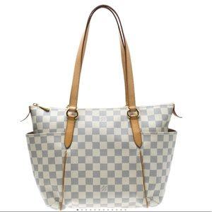 Louis Vuitton Damier Azur Canvas Totally PM Bag